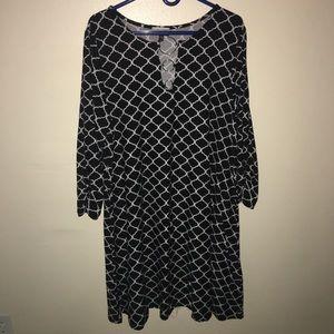 Plus size dress 2X